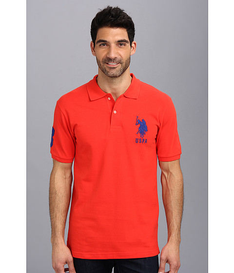 U.S. POLO ASSN. - Big Pony Polo (Havanna Red) Men
