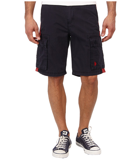U.S. POLO ASSN. - Sporty Cargo Short (Classic Navy) Men