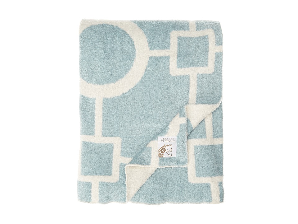 Little Giraffe - Dolce Matrix Throw (Lake) Sheets Bedding