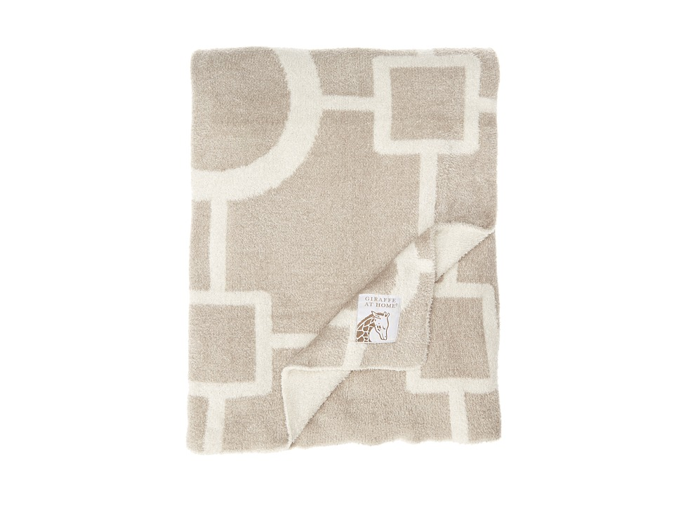 Little Giraffe - Dolce Matrix Throw (Flax) Sheets Bedding