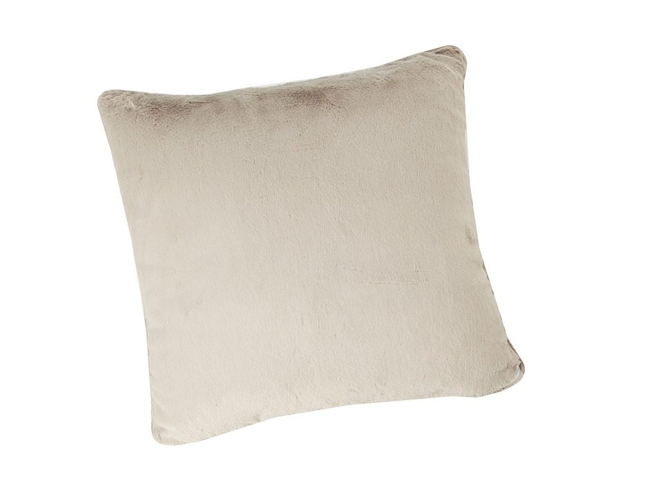 Little Giraffe - Luxe Throw Pillow (Flax) Sheets Bedding
