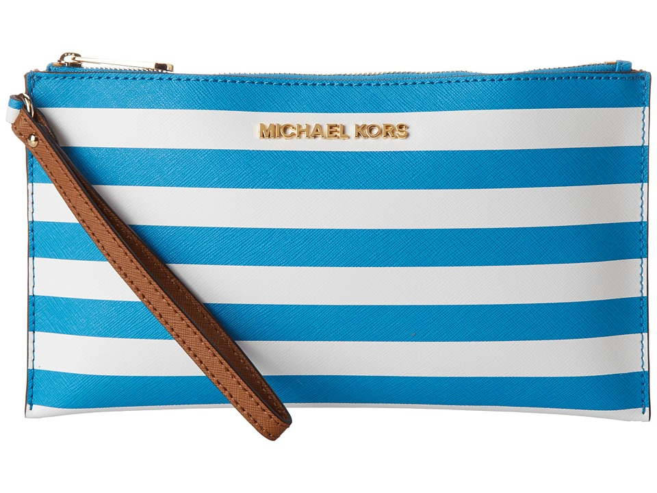 MICHAEL Michael Kors Jet Set Travel Stripe LG Zip Clutch Handbags