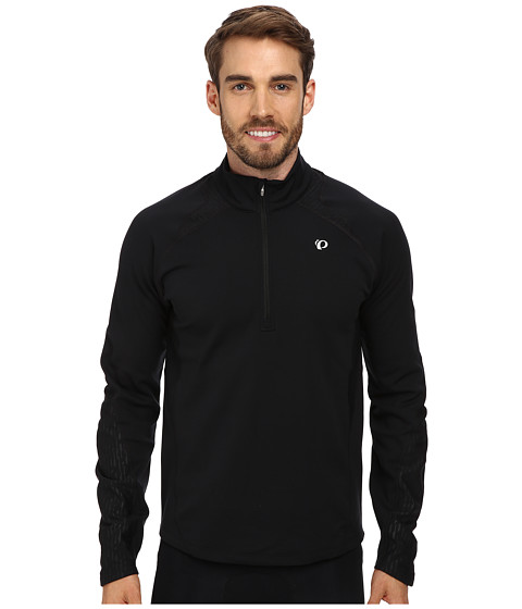 Pearl Izumi - Fly Thermal Run Top (Black) Men's Clothing