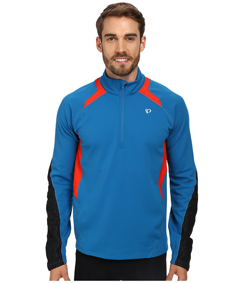 Pearl Izumi - Fly Thermal Run Top (Mykonos Blue) Men's Clothing