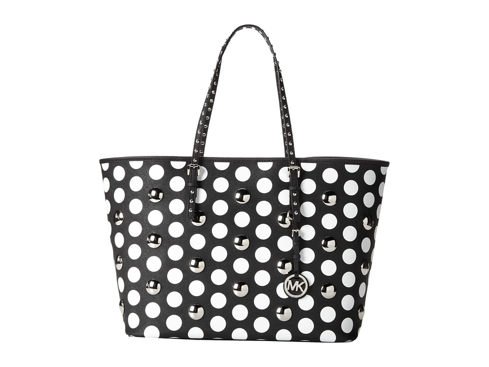 MICHAEL Michael Kors Jet Set Travel Dot Stud Medium Tote Handbags