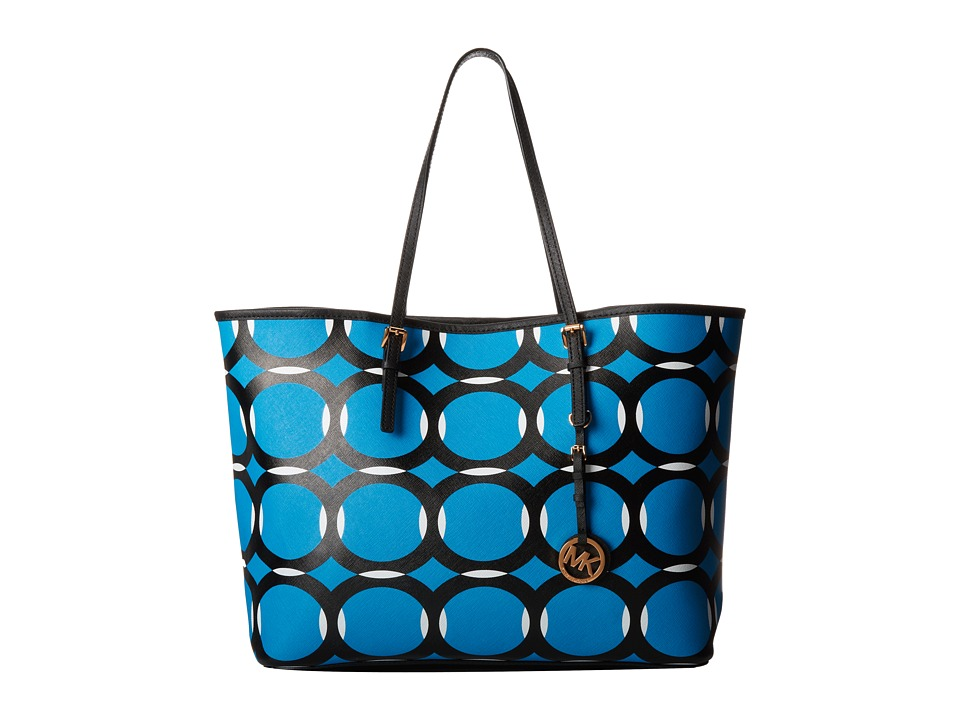 MICHAEL Michael Kors Jet Set Travel Deco Medium Tote Handbags
