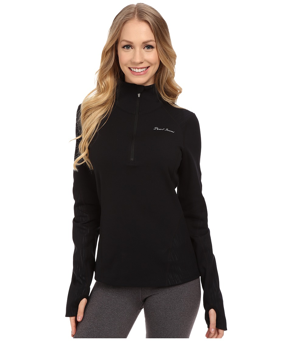 Pearl Izumi - Fly Thermal Run Top (Black) Women's Clothing
