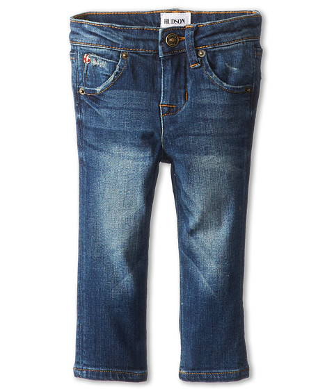 Hudson Kids - Collin Skinny w/ Signature Hudson Back Flap Pocket (Infant) (Hippie Sky) Girl's Jeans