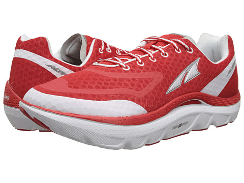 Altra Zero Drop Footwear - Paradigm (Red/White) Men's Running Shoes