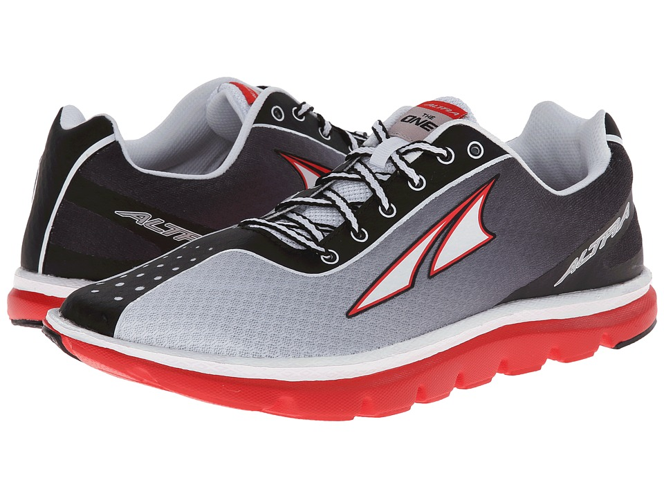 Altra Zero Drop Footwear - One 2 (Grey/Red) Men's Running Shoes