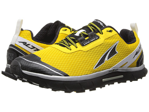 Altra Zero Drop Footwear - Lone Peak 2 (Yellow) Men's Running Shoes