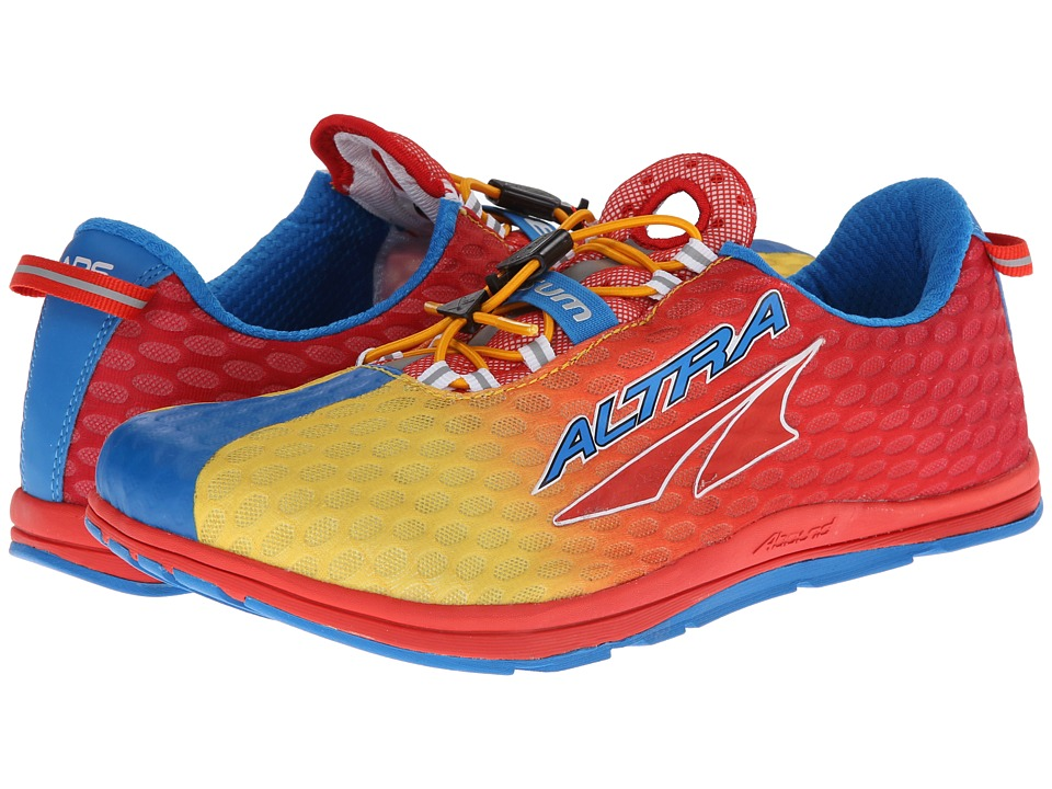 Altra Zero Drop Footwear - 3-Sum 1.5 (Blue/Fiery Red) Men's Running Shoes