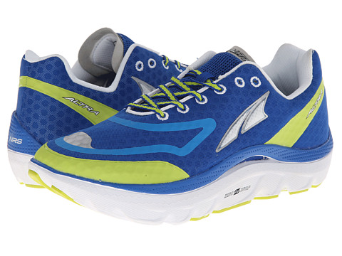 Altra Zero Drop Footwear - Paradigm (Blue/Yellow) Men's Running Shoes