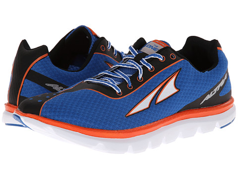 Altra Zero Drop Footwear - One 2 (Blue/Neon) Men