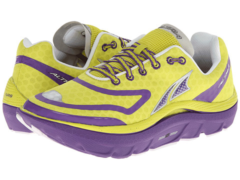Altra Zero Drop Footwear - Paradigm (Sulphur/Grape) Women