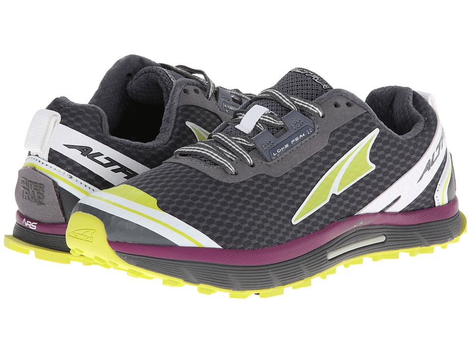 Altra Zero Drop Footwear - Lone Peak 2 (Dark Grey) Women's Running Shoes