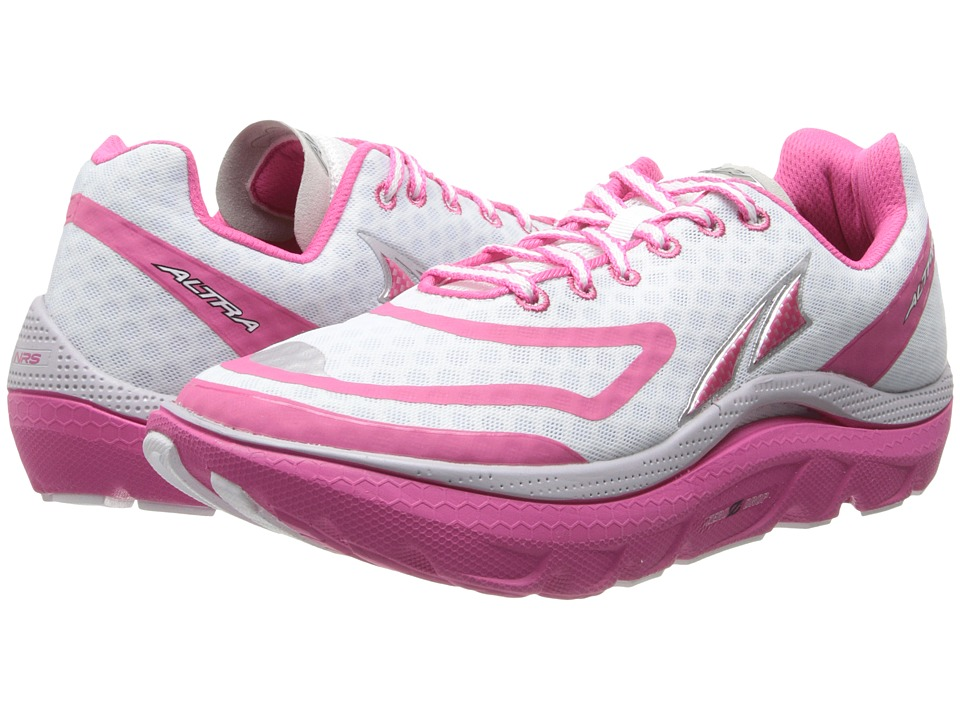 Altra Zero Drop Footwear - Paradigm (White/Pink) Women's Running Shoes