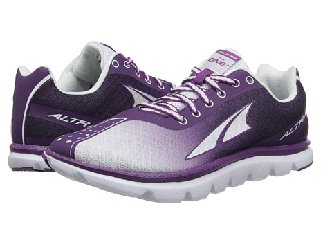 Altra Zero Drop Footwear - One 2 (Purple/Grey) Women's Running Shoes