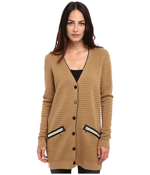 Armani Jeans - Long Cardigan (Camello) Women