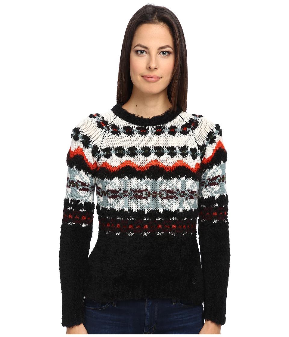 Armani Jeans Peruvian Theme Sweater (Black) Women