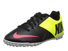 Nike Kids Bomba II Jr (Toddler/Little Kid/Big Kid) (Black/Hyper Pink/Green)