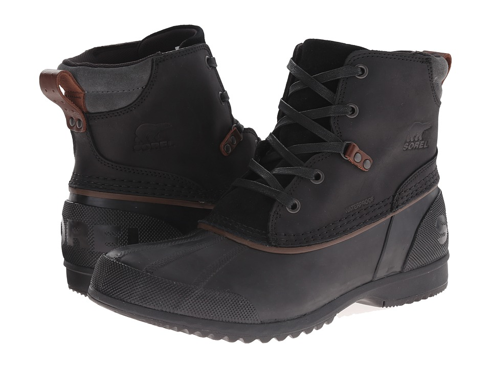 SOREL - Ankeny (Black/Grill 2) Men's Boots