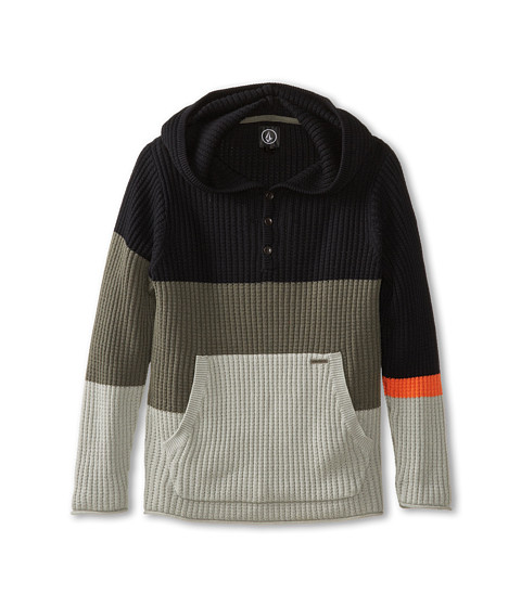 Volcom Kids - Whaler Sweater (Big Kids) (Slate Grey) Boy