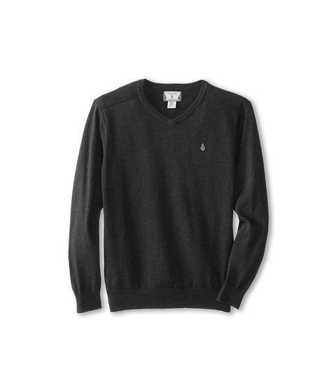 Volcom Kids - Main Solid Sweater (Big Kids) (Black) Boy's Sweater