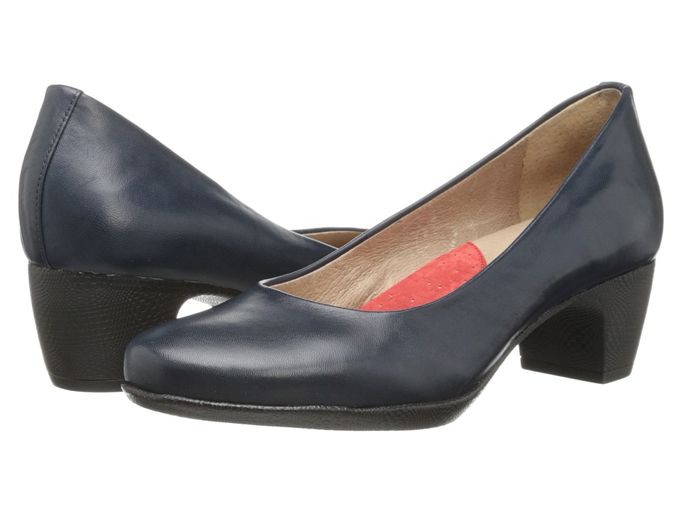 SoftWalk - Imperial (Navy Burnished Soft Kid) Women's 1-2 inch heel Shoes