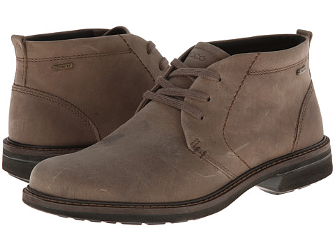 ECCO - Turn GTX Boot (Stone) Men's Lace-up Boots