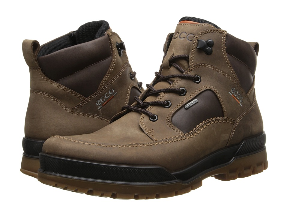 ECCO - Track 6 (Coffee/Coffee) Men's Lace-up Boots