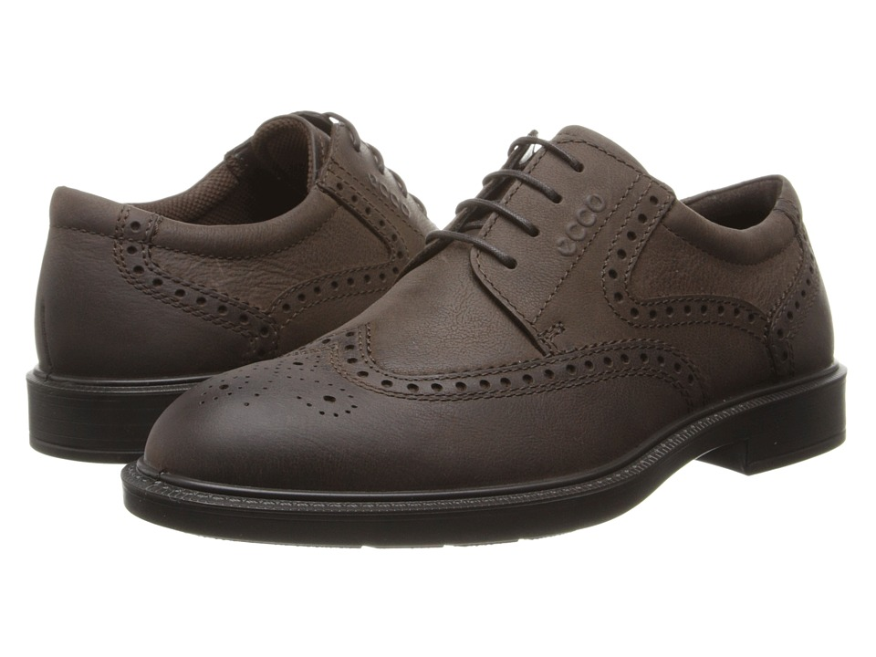 ECCO - Atlanta Wing Tip (Coffee Antelope) Men