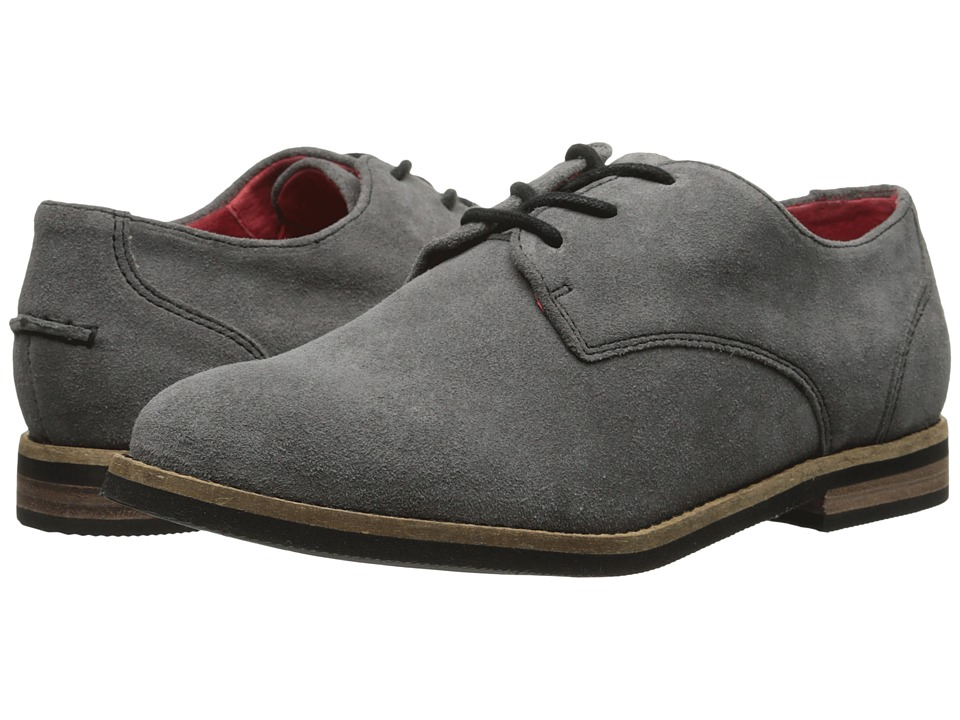 SoftWalk Maine (Grey Cow Suede Leather) Women