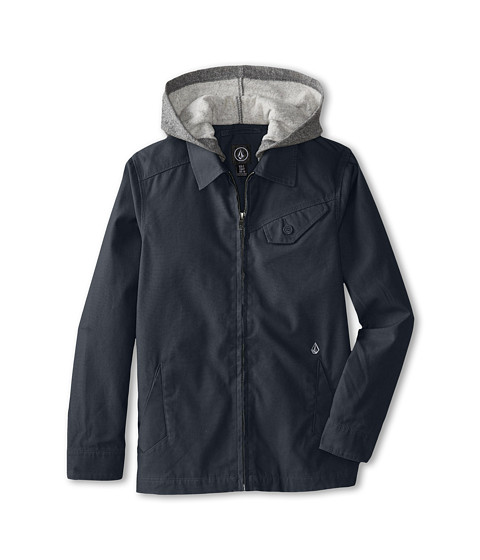 Volcom Kids - Bashi Jacket (Big Kids) (Black) Boy's Coat