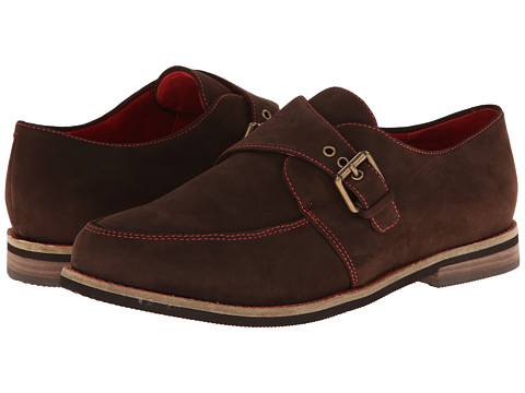 SoftWalk - Medway (Dark Brown Nubuck) Women's Shoes