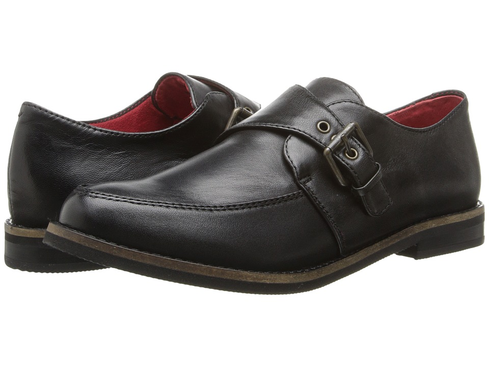 SoftWalk - Medway (Black Burnished Soft Kid Leather) Women