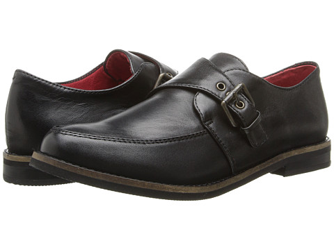 SoftWalk - Medway (Black Burnished Soft Kid Leather) Women's Shoes