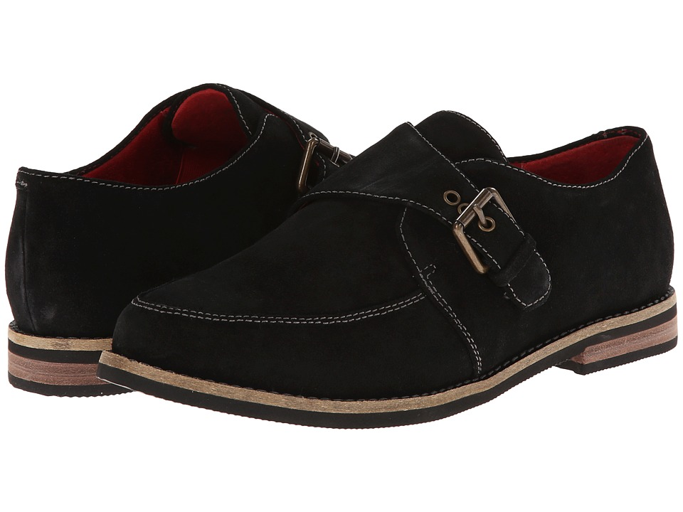 SoftWalk - Medway (Black Cow Suede Leather) Women