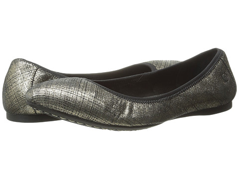Born - Halle (Miele Textured Metallic) Women's Flat Shoes
