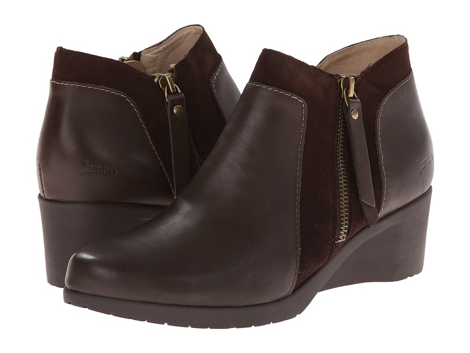 Jambu - Cube - Hyper Grip (Brown) Women's Shoes