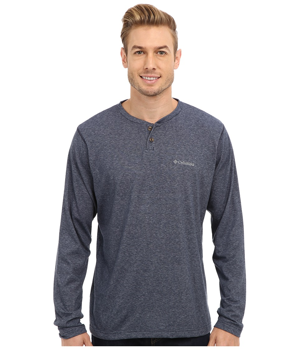 ae78069fa79 UPC 887921194601 product image for Columbia Thistletown Park Henley  (Nocturnal) Men's Long Sleeve Pullover ...