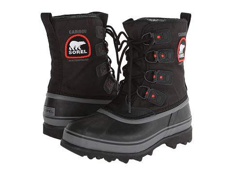SOREL Caribou XT (Black) Men's Boots