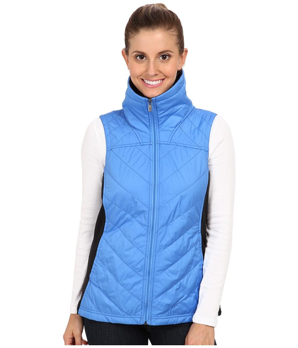 Columbia - Mix It Around Vest (Harbor Blue/Black) Women's Vest