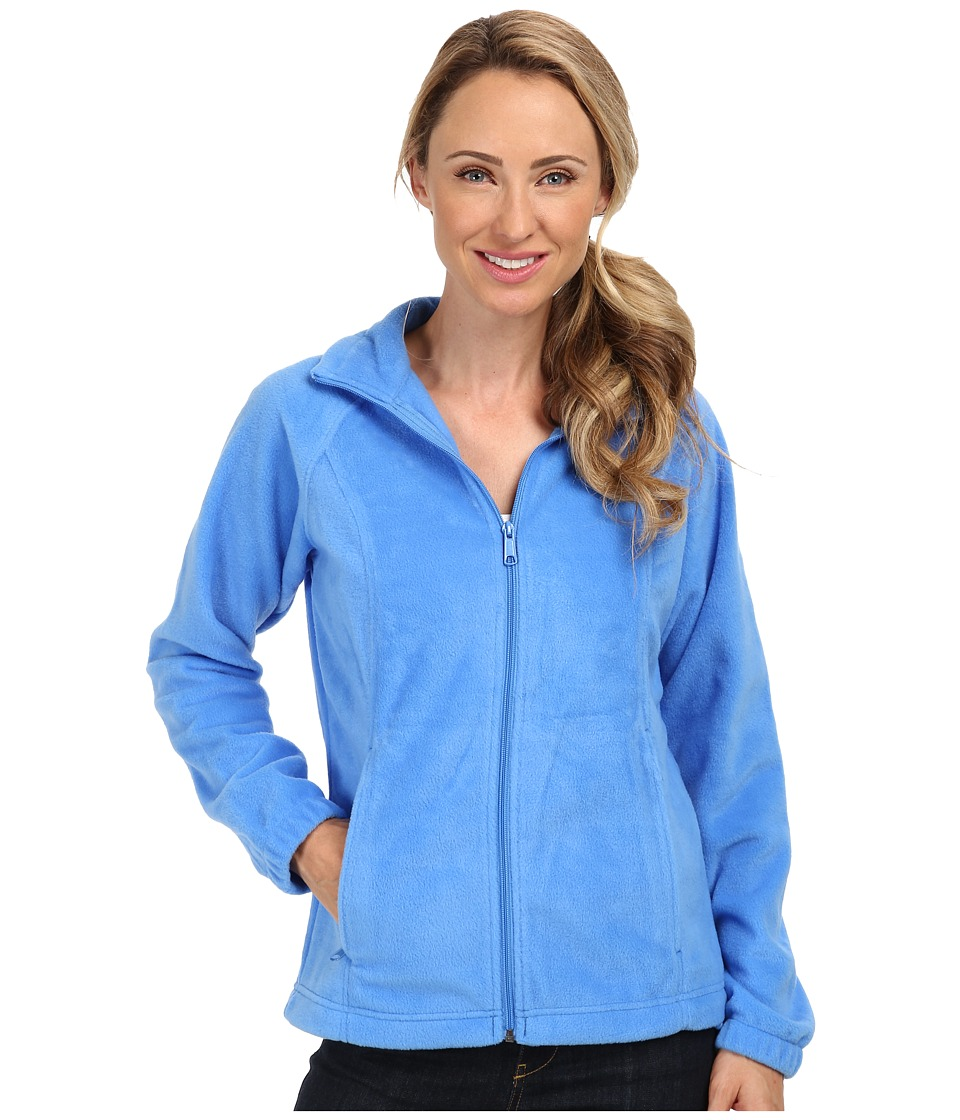Columbia - Benton Springs Full Zip (Harbor Blue) Women's Jacket