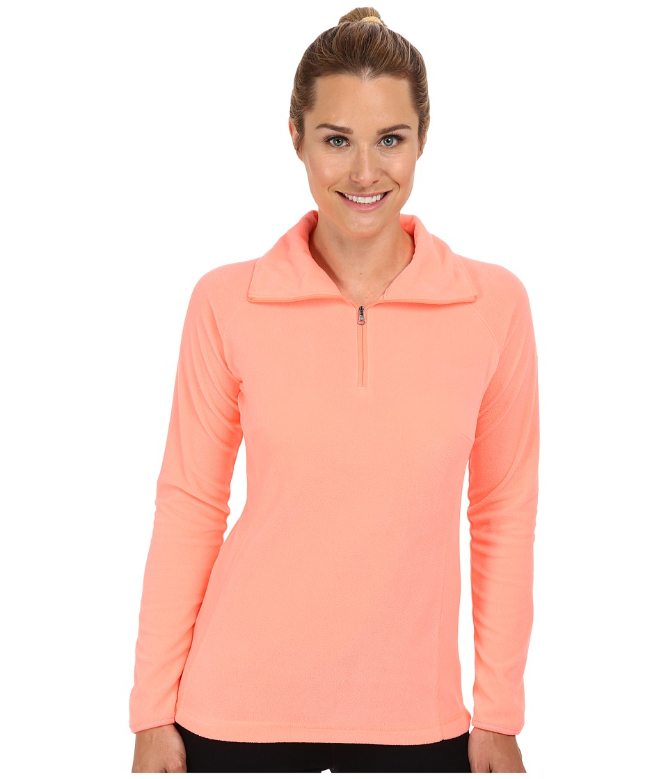 Columbia - Glacial Fleece III 1/2 Zip (Coral Glow) Women's Coat