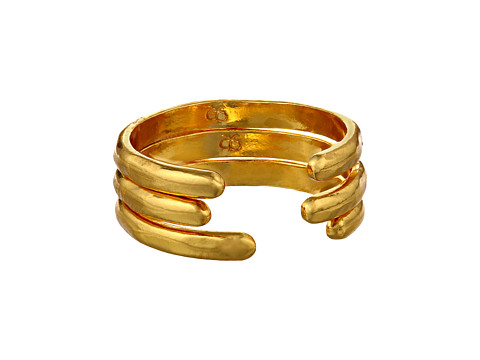 gorjana - Taner Cuff Ring Set (Gold) Ring