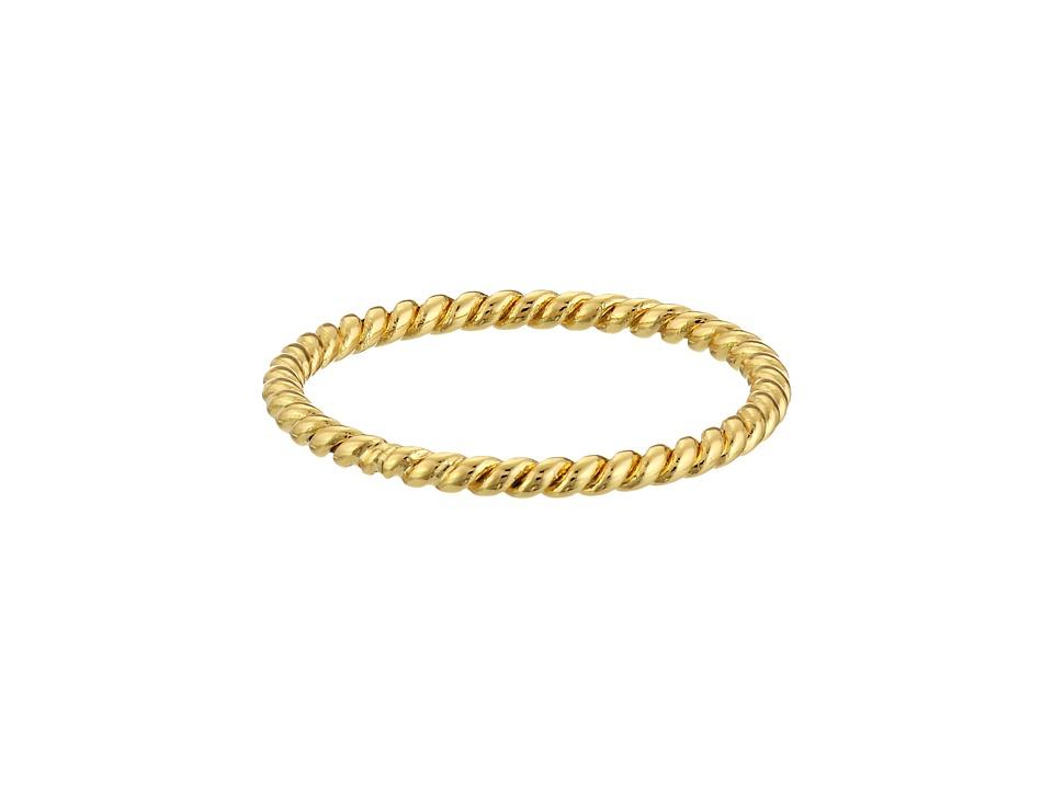 gorjana - Marina Midi Ring (Gold) Ring