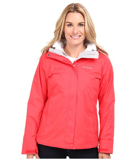 Columbia - Nordic Cold Front Interchange Jacket (Red Hibiscus) Women's Coat