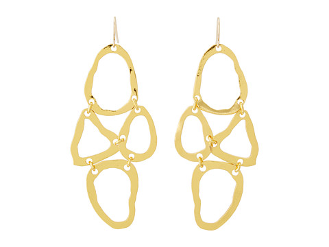 gorjana - Tiago Drop Earrings (Gold) Earring