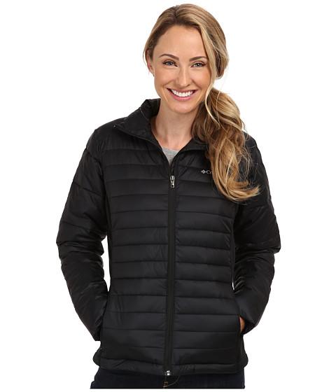 Columbia - Powder Pillow Hybrid Jacket (Black) Women's Coat